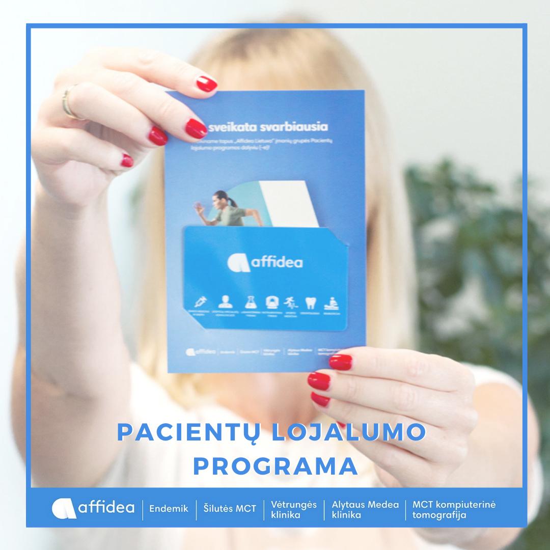 Pacientų lojalumo programa